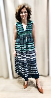 One Season Malta Tommy Dress Emerald