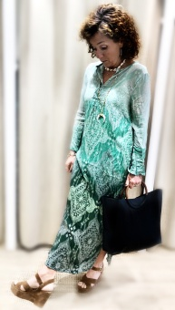 One Season Taj Genie Dress Emerald