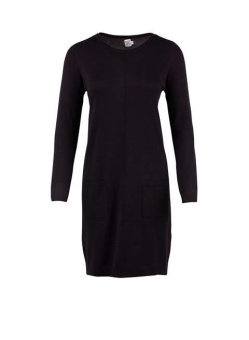 Saint Tropez Knit dress Svart