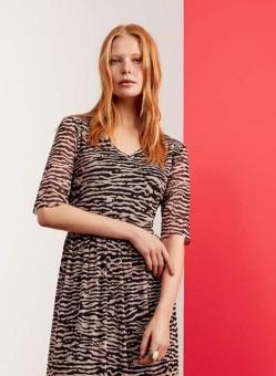Saint Tropez klänning Zebra