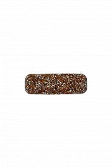Black Colour Rabia Hairclip Stone