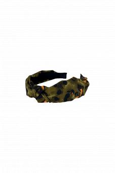Black Colour Diadem Grön Leo