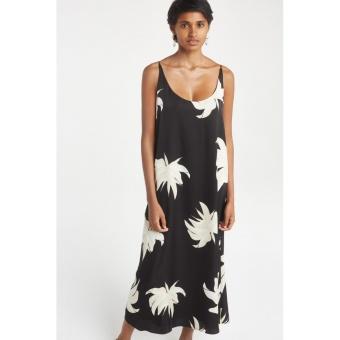 Yaya Long Strappy Dress Jungle