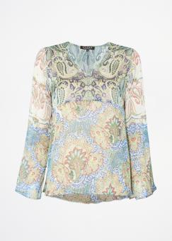 Modes Maya Paisley Blus