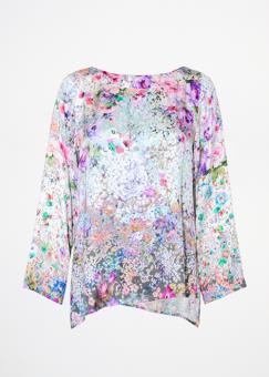 Modes Hippie Flower Blus
