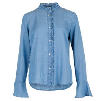 Neo Noir Chambray Shirt