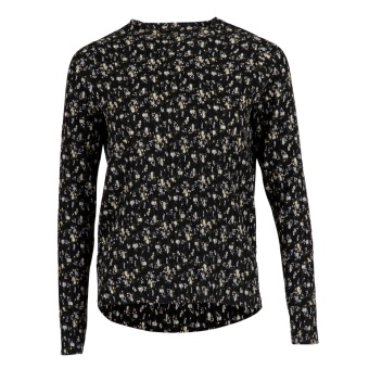 Neo Noir Wally Floral Blouse