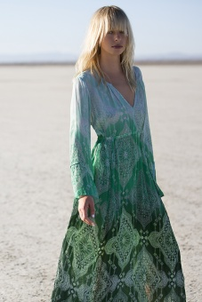 One Season Taj Becca Dress Emerald