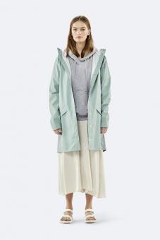 Rains Long Jacket Mint