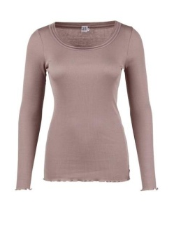 Saint tropez Rib T-shirt satin