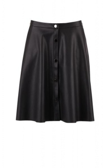 Saint Tropez Faux leather skirt