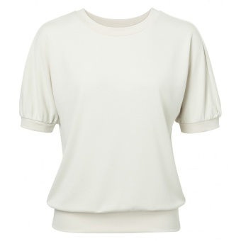 Yaya Sweatshirt with Short Sleeves