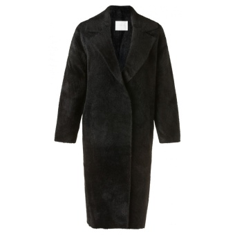Yaya Long Faux Fur Coat