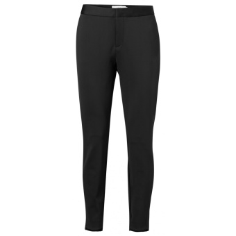 Yaya Jersey Slim-fitted Trousers