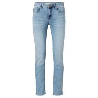 Yaya Basic Raw Edges Jeans