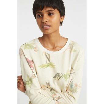 Yaya Jersey Sweater Animal Print