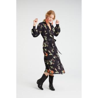 Yaya Maxi Dress With Animal Prints