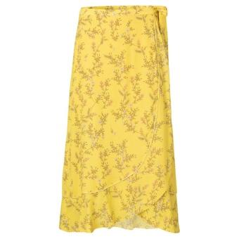 Yaya Wrap Skirt With Ruffle