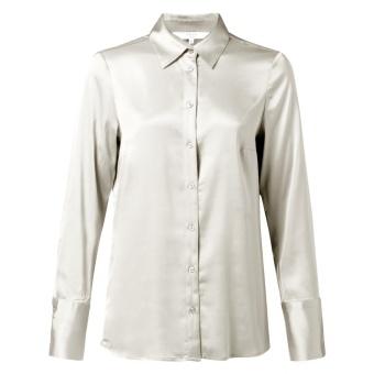 Yaya Satin Shirt With Cuffs