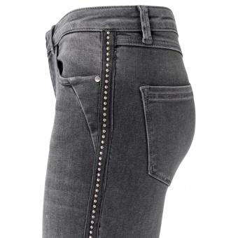 Yaya Skinny Jeans With Studded Tape