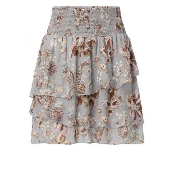Yaya Printed Ruffle Skirt