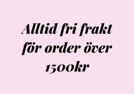 Fri Frakt Över 1500kr