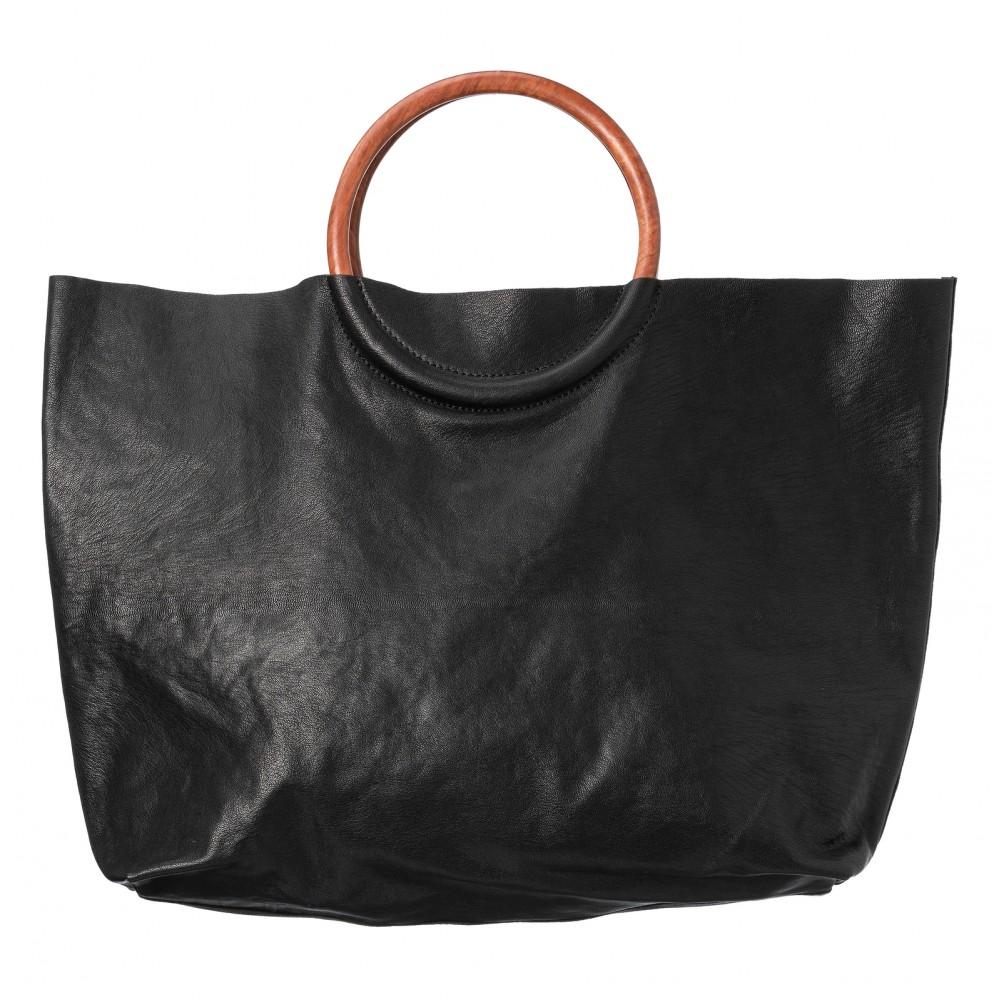 Yaya Leather Shopper