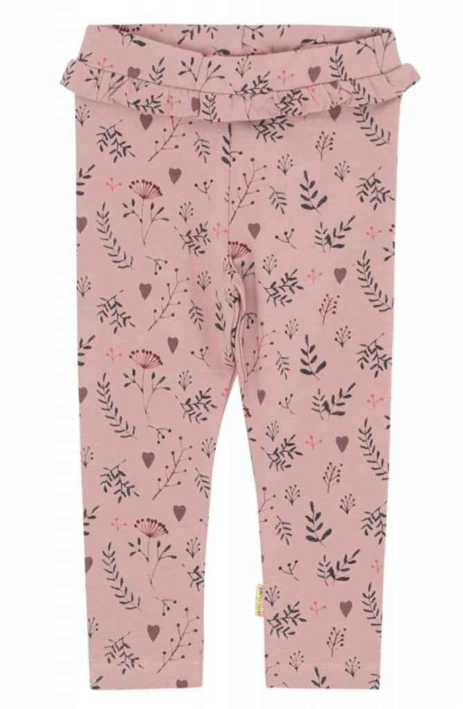 Leggings med blommönster Pale lilac