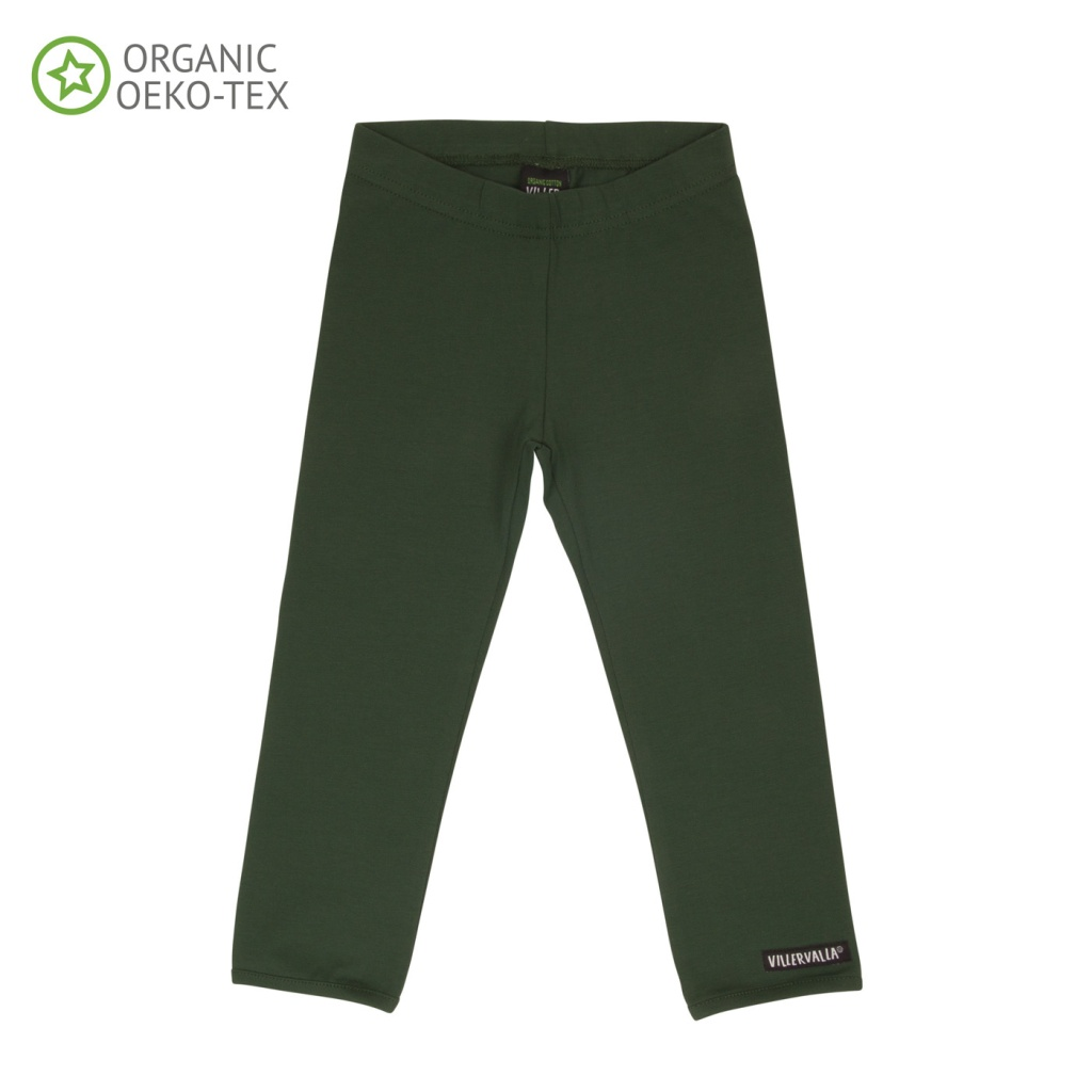 Leggings Solid Basic, Dark Pine