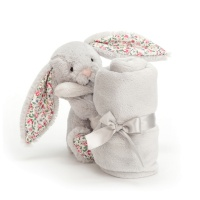Gosedjur med snuttis - Blossom Silver Bunny Soother