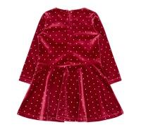 Klänning med silverprickar (Rio red)