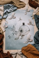 Poster, 50x70 - Dear Whalie
