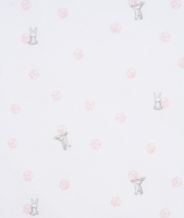 Mössa, tossie kaniner rosa klossar