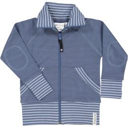 Ziptröja Soft blue