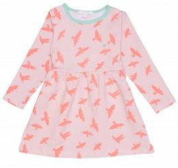 Klänning Lotta dress pink luna