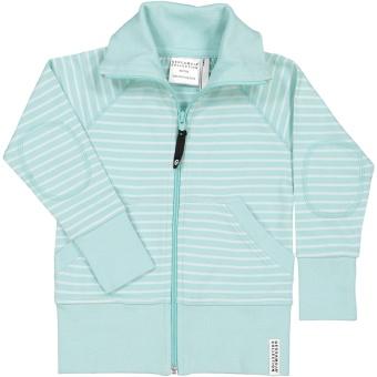 Ziptröja Soft mint/mint