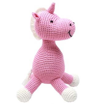 Gosedjur - Miss Unicorn (pink)