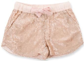Shorts Dee rosa sparkle