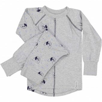 Pyjamas/underställ Bulldog 2-delad