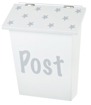 Postlåda, vit