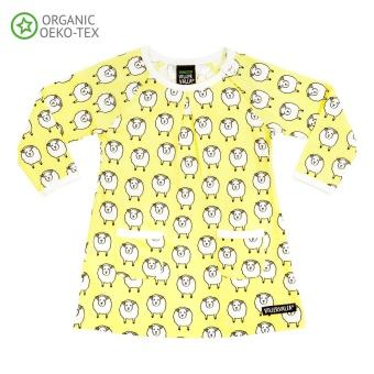 Klänning - Sheep newborn lemonade