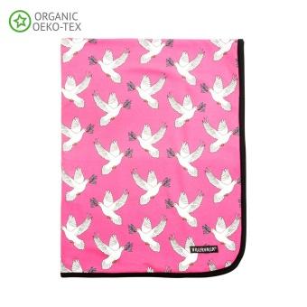 Filt - Doves flamingo
