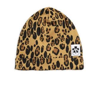Mössa - Basic beanie leopard