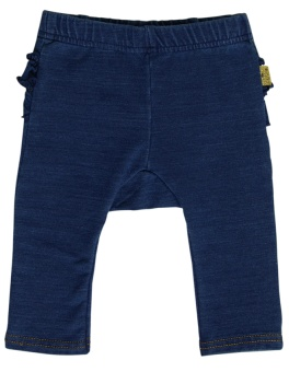 Babyleggings med denimlook