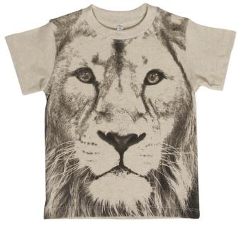 T-shirt, lejon cream