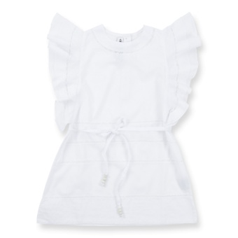 Klänning Wing vit