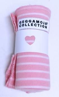 Snuttefil pink/white