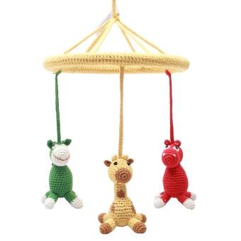 Mobil - Hippo, giraffe and donkey