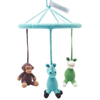 Mobil - Donkey, monkey and rhino