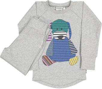 2-delad pyjamas, doddi
